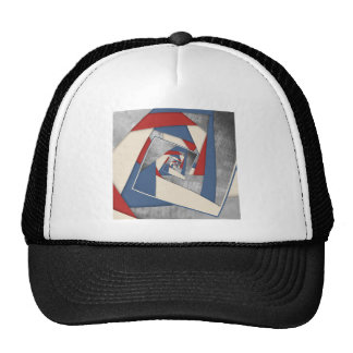 Abstract America Collage 2 Trucker Hat