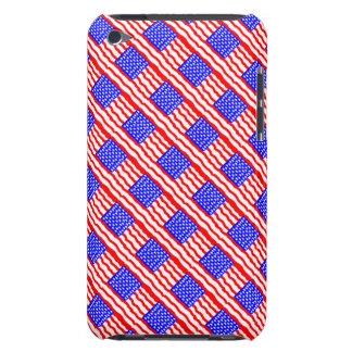 Abstract American Flag iPod Case