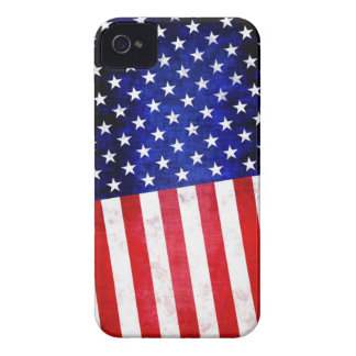 Abstract American flag on iPhone 4 case