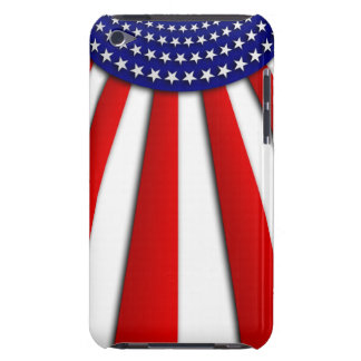 Abstract American flag on iPod touch 4G case iPod Touch Covers