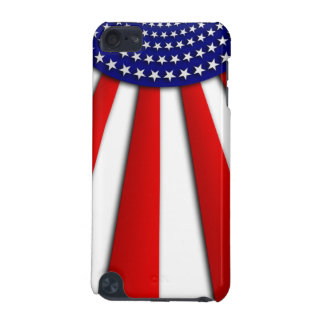 Abstract American flag on iPod touch 4G case iPod Touch (5th Generation) Cases