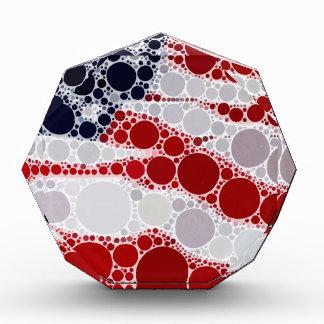 Abstract American Flag - Patriotic Print Award