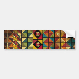 Abstract ancient background bumper sticker