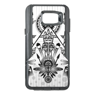 Abstract Ancient Native Indian Tribal OtterBox Samsung Note 5 Case