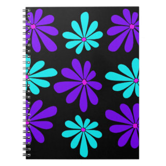 Abstract and Colorful Gerbera Daisies Notebook