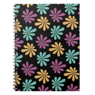 Abstract and Colorful Gerbera Daisies Note Book