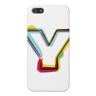 Abstract and colorful letter Y Case For iPhone SE/5/5s