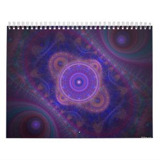 Abstract and Fractal Dreams Calender Calendar