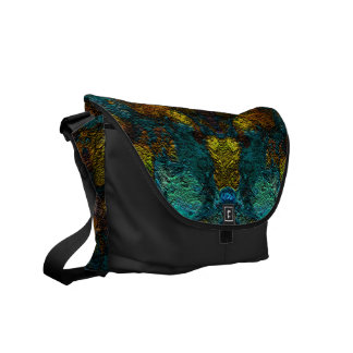 Abstract and unique patterned bag messenger bag