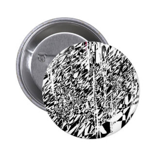 abstract angel 2 inch round button