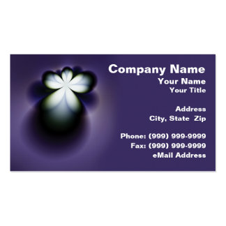 Abstract Angel Double-Sided Standard Business Cards (Pack Of 100)