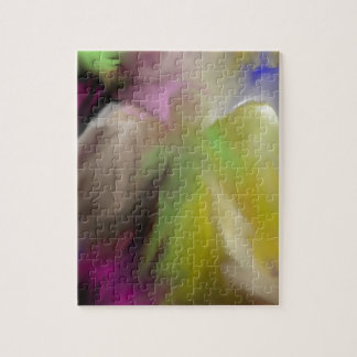 Abstract Angel Design Jigsaw Puzzle