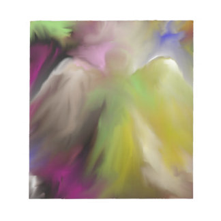 Abstract Angel Design Notepad