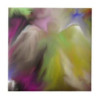 Abstract Angel Design Tile