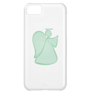 Abstract Angel Green Case For iPhone 5C