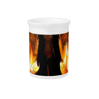 Abstract Angel Hell Fire Drink Pitchers