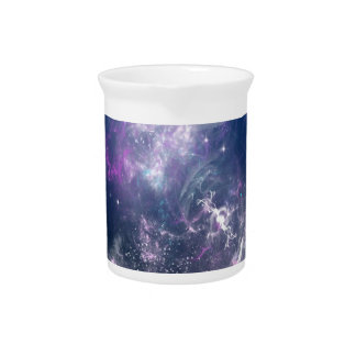 Abstract Angel Space Storm Pitcher