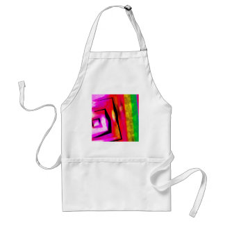 Abstract Angles & Lines Standard Apron