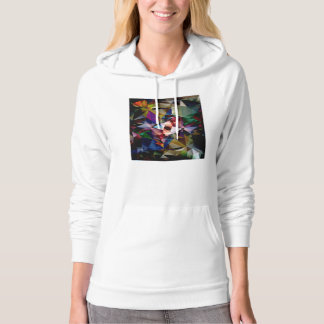 Abstract Angles of Color Hoodie