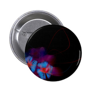 Abstract Animal Butterfly Flight Pinback Button