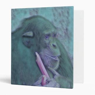 abstract animal chimp binder