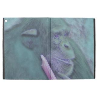 "abstract animal chimp iPad pro 12.9"" case"