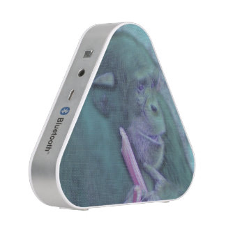 abstract animal chimp speaker