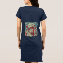 abstract Animal - Chimpanzee Dress