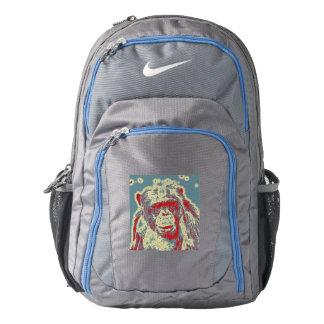 abstract Animal - Chimpanzee Nike Backpack