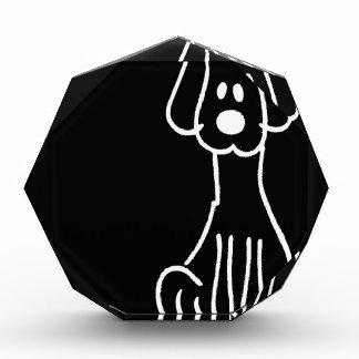 Abstract Animal Doodle Dog Awards
