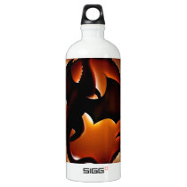 abstract animal dragon storm.jpg aluminum water bottle