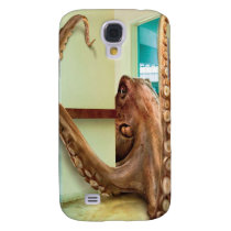 Abstract Animal Home Octopus Galaxy S4 Cover