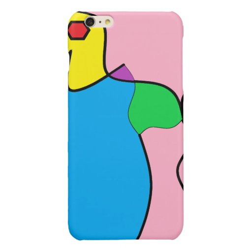 abstract animal glossy iPhone 6 plus case