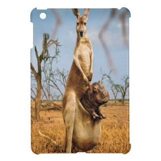 Abstract Animal Kangaroo Wierd iPad Mini Cases
