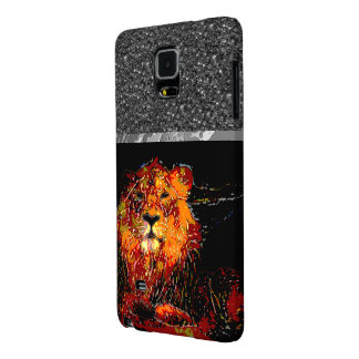 abstract Animal - Lion Galaxy Note 4 Case
