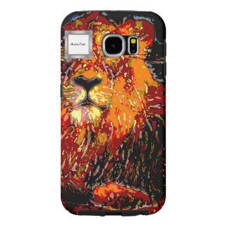 abstract Animal - Lion Samsung Galaxy S6 Case