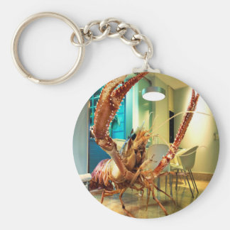 Abstract Animal Lobster House Keychains