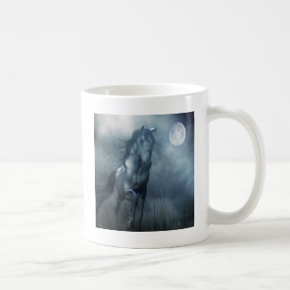 Abstract Animal Moonlight Horse Coffee Mug