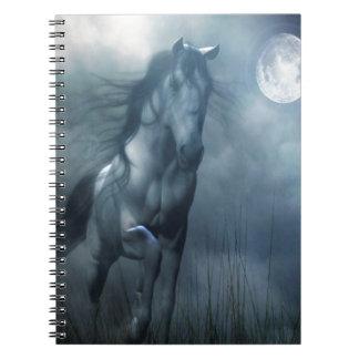 Abstract Animal Moonlight Horse Journals