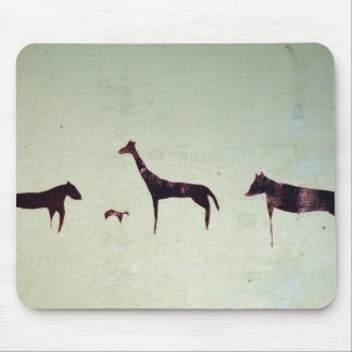 Abstract Animal Mouse Pad
