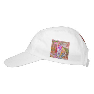 Abstract Animal-painted young tiger Headsweats Hat