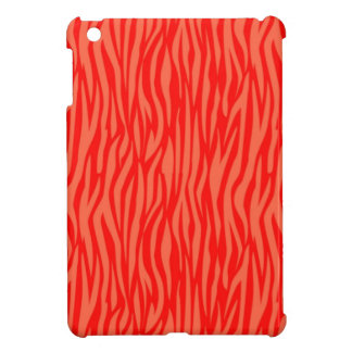 Abstract Animal Print red Cover For The iPad Mini