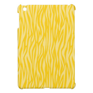 Abstract Animal Print yellow Cover For The iPad Mini