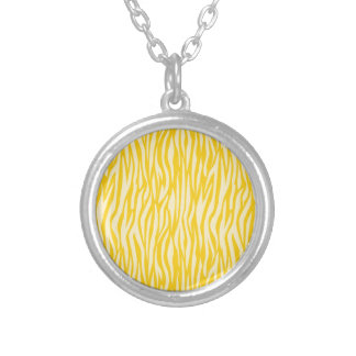 Abstract Animal Print,yellow Necklaces