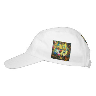 abstract Animal - red Panda Headsweats Hat