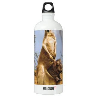 Abstract Animals Kangaroo Baby Shock SIGG Traveler 1.0L Water Bottle