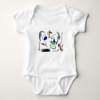 abstract animals shirt