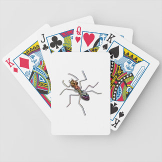 Abstract ant. bicycle playing cards
