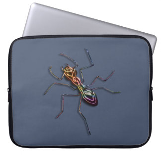 Abstract ant. computer sleeve
