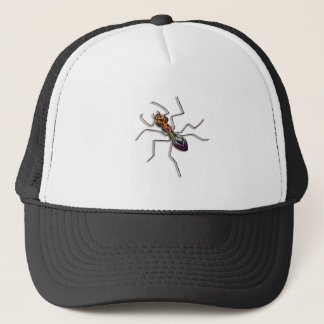 Abstract ant. trucker hat